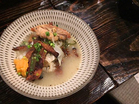 中洲の『とりまぶし』で味わうべき!水炊きスープで食べる「とりまぶし」