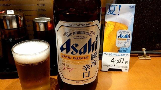 ちょい飲みに最適!大阪・梅田の地下街にあるセンベロ立ち呑み『直福』