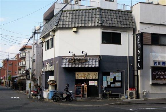 うどんが見えない!大判の揚げがのった京都の絶品「きつねうどん」