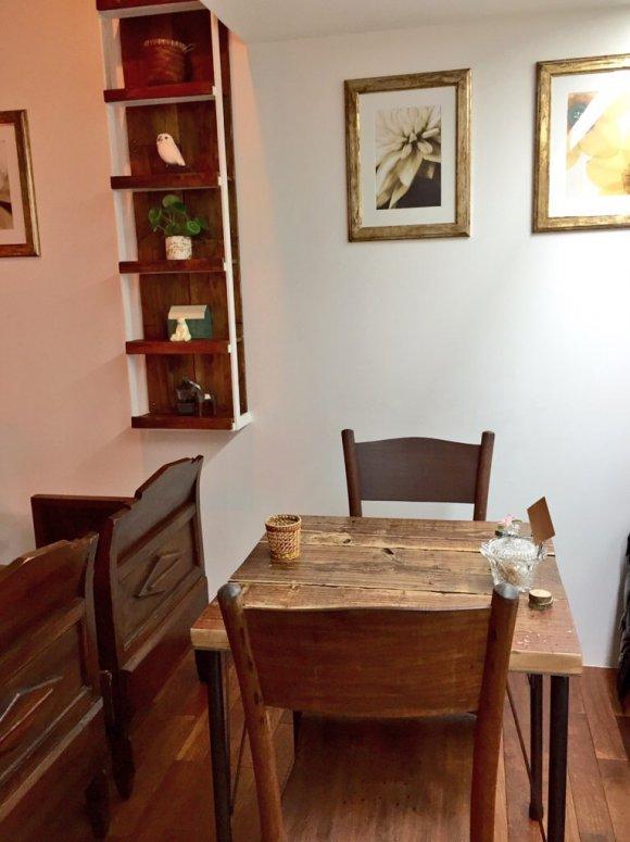 隠れ家的な1軒家カフェで1日6食限定のお勧めパンケーキ!