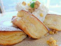 ふわっもちっの新食感!湘南小麦を使った江ノ島のパンケーキ