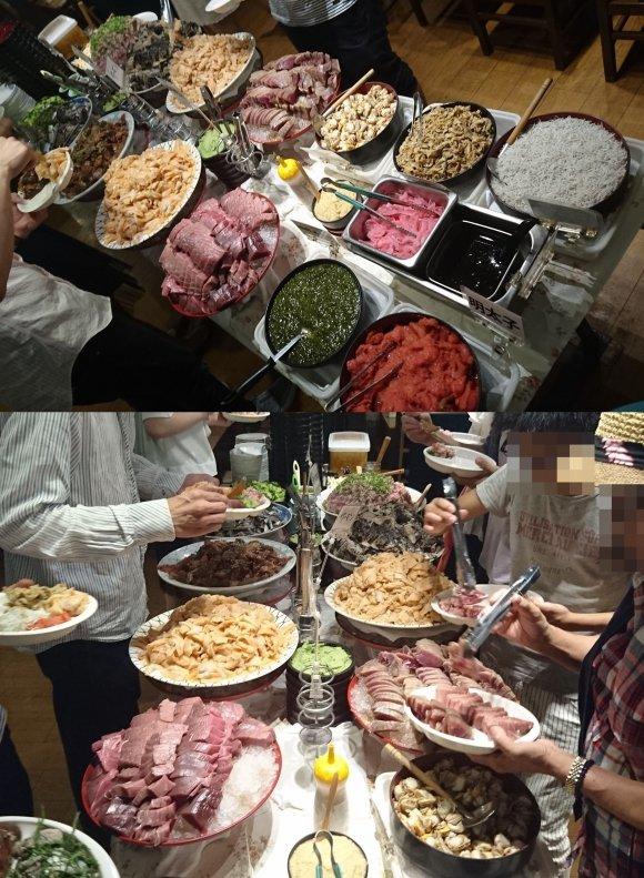 「たいこ茶屋」の刺身食べ放題ランチが凄い!これで1300円はお得すぎ