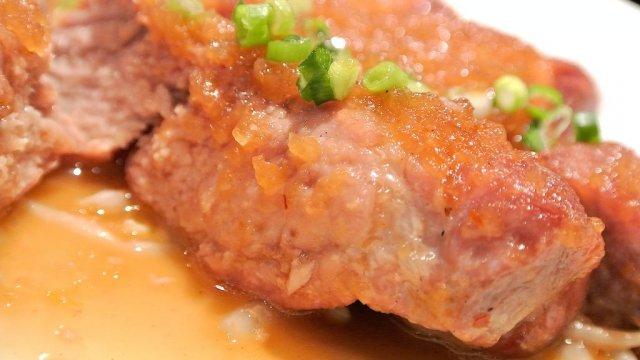 豚テキ300g!六本木のビアバーでボリューム満点な肉ランチ