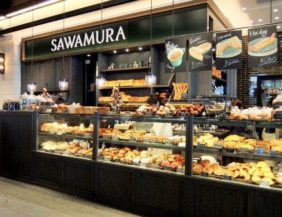 バスタ新宿の下に開店!パン好きに人気の軽井沢発ベーカリー「サワムラ」