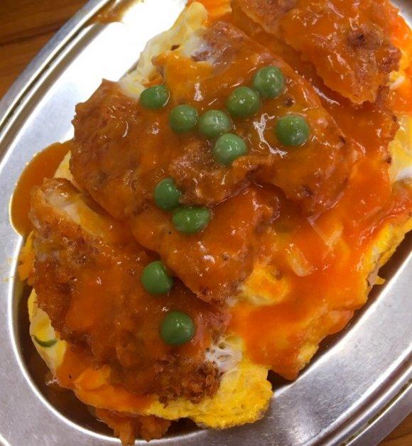 とんかつ+オムライス!?東京で食す福井のご当地グルメ「ボルガライス」