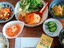 これが850円は満足度高い!農家直送の野菜たっぷり定食が味わえるお店