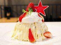 2017年版!いちごとクリームが美味しい「クリスマスパンケーキ」4選