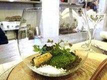 見ても食べても楽しめる!スペシャリテの「苔テラリウム」が自慢のお店