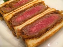 【キッチン さくらい】上野の人気洋食屋がつくる絶品ビーフカツサンド