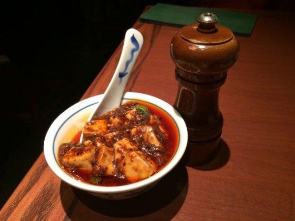 新宿高層ビル群で刺激的な四川料理ランチを「陳麻婆豆腐」