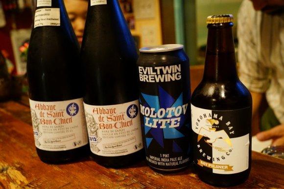 三軒茶屋駅チカ!レアなボトルビールの購入もできるビアバー