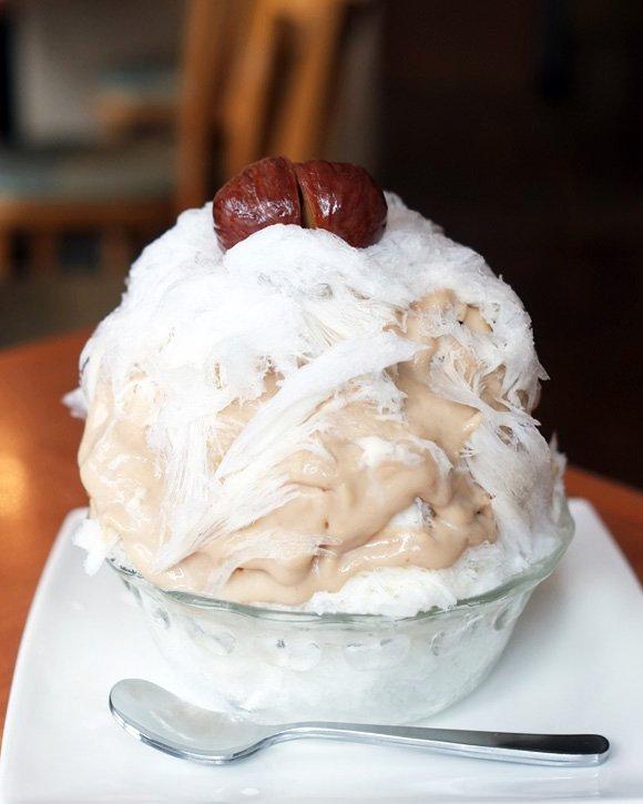 秋に食べたいかき氷!濃厚かぼちゃと栗みるくで季節の味を堪能