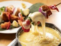 新宿でチーズ三昧!チーズフォンデュなど6品に飲放付コースが3500円