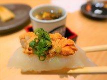 とらふぐ入りおまかせ寿司5貫が1000円!カウンター寿司を楽しめる店