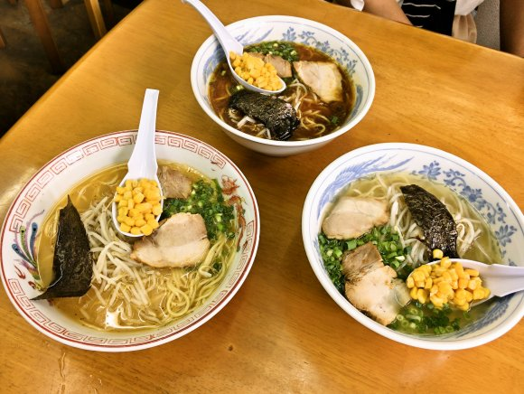 麺が美味い!福岡を代表する味噌ラーメンの名店・時計台の味を継ぐ3軒