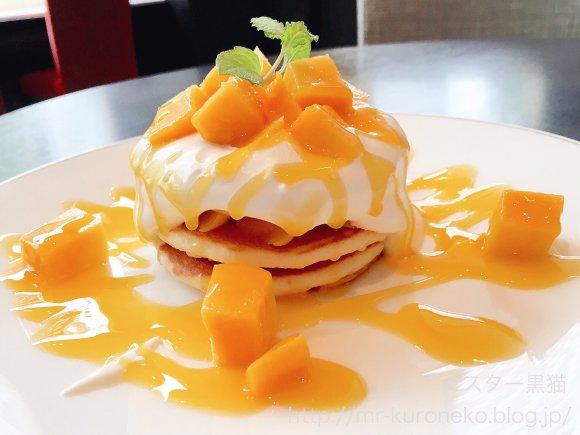 フレッシュマンゴーがたっぷり!銀座のホテルで限定パンケーキ