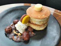 ふわふわスフレの食感!ホテルニューオータニ幕張の秋限定パンケーキ