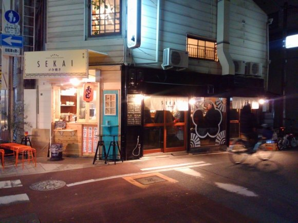 大阪名物イカ焼きでちょい飲み!2000円でお酒と鉄板焼きが楽しめる店