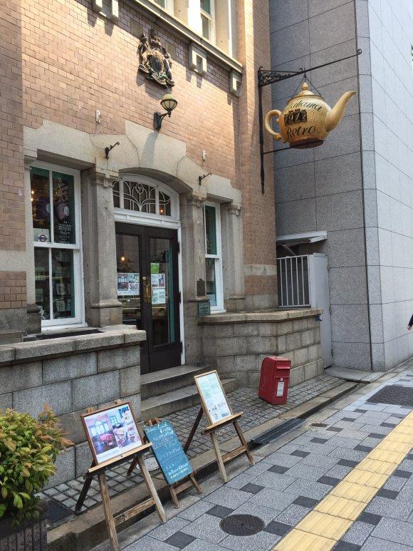 築100年超の建物でボリューム満点のサンドウィッチを@大阪