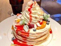 【表参道】モエナカフェのフルーツ盛り盛り新作パンケーキ