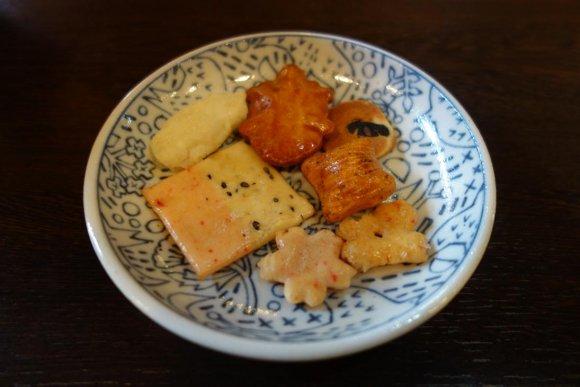 京都西陣で和スイーツ!「あられパフェ」が美味しくて華やか!