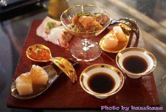 和牛から真鯛、稚鮎まで!旬の鮮魚を使った料理が評判な炭火創作料理店