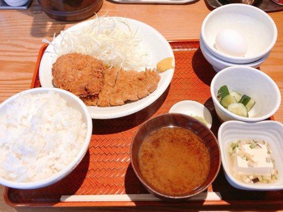 カツと副菜の種類、ご飯の量…無限の組み合わせを楽しめるトンカツ屋