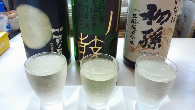 日本酒の3種類飲み比べセットが500円!お得に日本酒が楽しめるお店