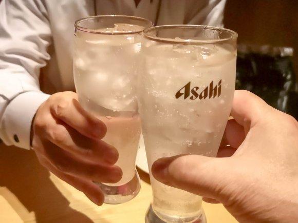 クーポンで2H飲み放題が100円!浮いたお金で豪華マグロ料理を味わう