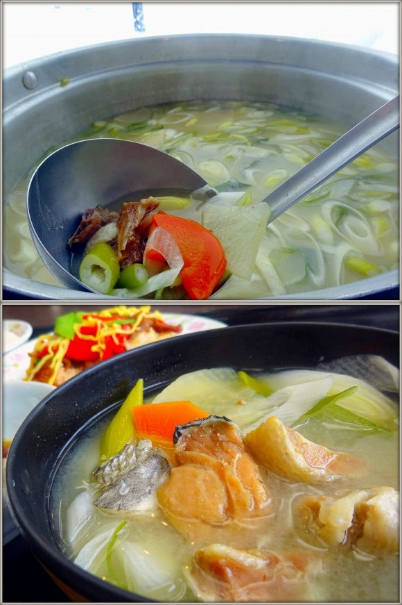 鮭どころ・石狩で絶品鮭あら汁が味わえる!天然温泉バイキングレストラン