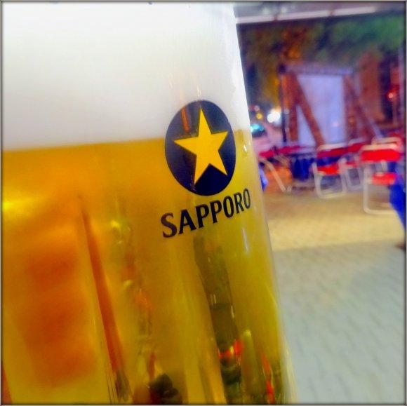 ジンギスカン食べ放題!日本人が初めて造ったビール醸造所のビヤガーデン