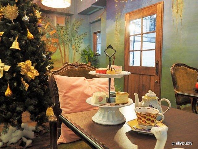 三宮「カフェおとぎ」のかわいいスイーツプレートが味も見た目も本格的!