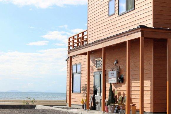 父母ヶ浜が一望できる!絶景も楽しめる絶品ハンバーガーショップが誕生