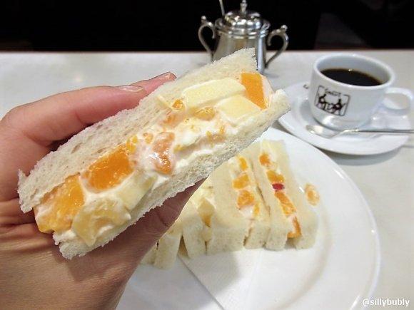 「ホットケーキ」や「フルーツサンド」がおススメ!京都の老舗喫茶店