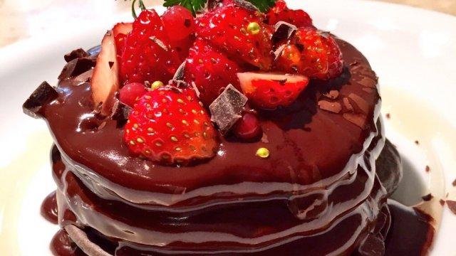自分へのご褒美に!期間限定バレンタインチョコパンケーキ4選