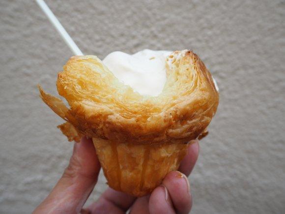 病みつきになる!クロワッサンソフトクリームが美味しい町のパン屋さん