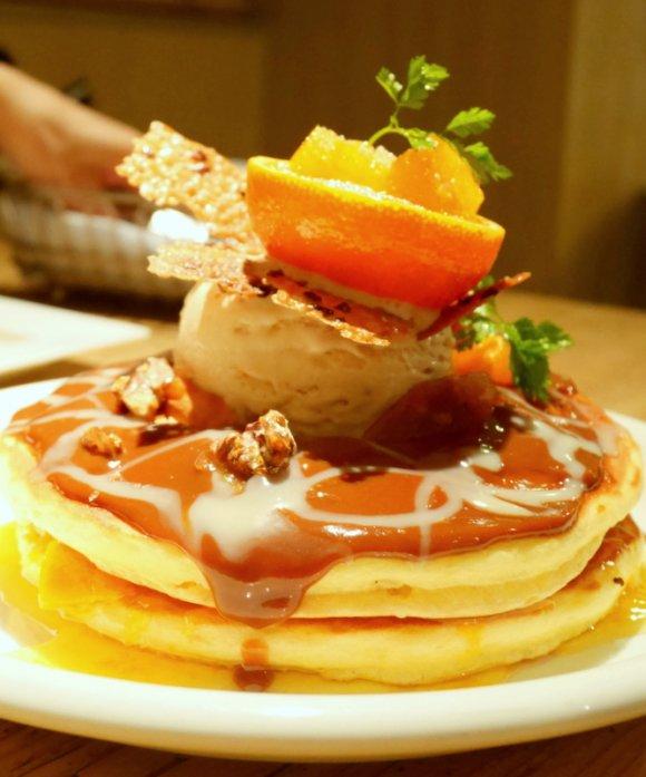【季節限定】日本の冬にぴったりなみかんパンケーキが新登場!