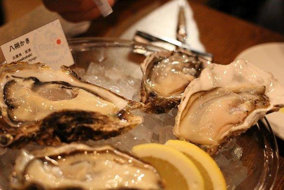 種類豊富な美味しい牡蠣を、女子ウケ抜群なお洒落空間で@新宿