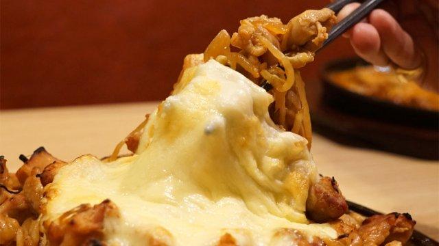 チーズの海に溺れたい!話題のチーズタッカルビが1480円で食べ放題