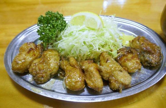 神田「とんかつ万平」の裏名物「カキバター定食」は一度は食べるべき一品