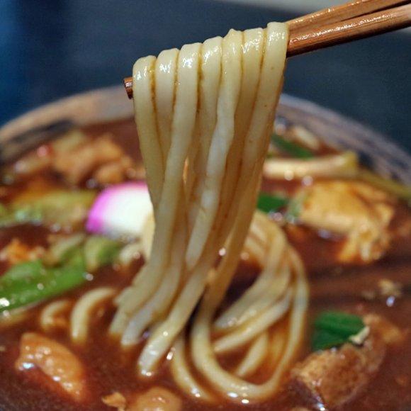 八丁味噌と和出汁と辛味が絶妙なバランス!老舗麺類食堂の絶品味噌うどん