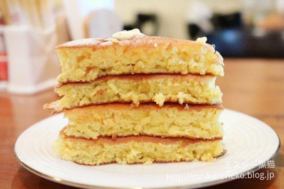 4段重ねのふわもちホットケーキが絶品!本当は教えたくない穴場カフェ