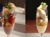 デザートにはパフェ!前菜からメインまでついて1000円のお得なランチ