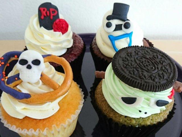 とにかくどれもかわいすぎ!しっとりあま~いハロウィン限定カップケーキ