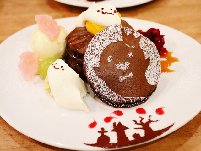 かわいくて食べられない!人気店からハロウィンパンケーキが限定で登場