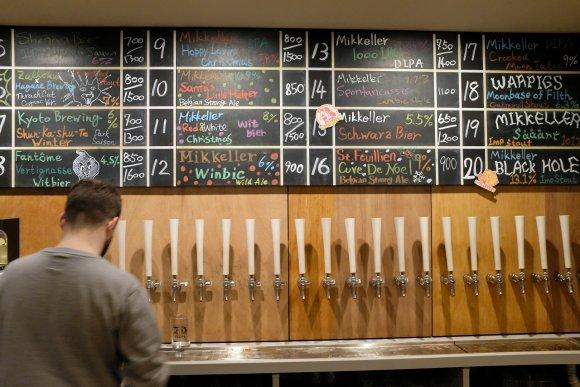 独創的な一杯に出会える!クラフトビール界の巨匠「ミッケラー」の直営店