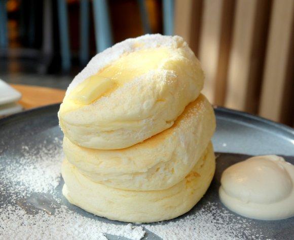 しっとり生地に感動!あのふわふわパンケーキのお店の冬限定パンケーキ
