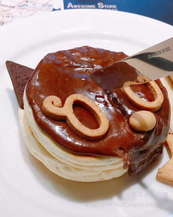 原宿の人気店がコラボ!かわいい黒猫風パンケーキは5/7までの期間限定