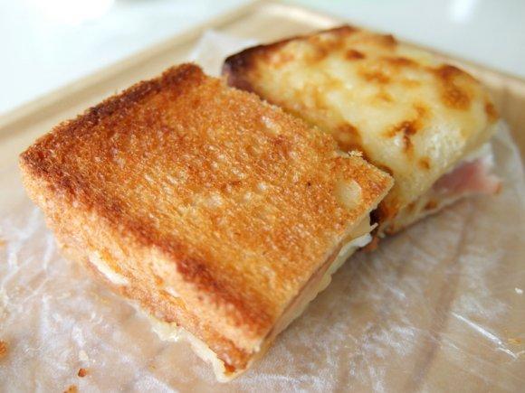 とろけるチーズとたっぷりきのこ!ちょっぴり大人のクロックムッシュ