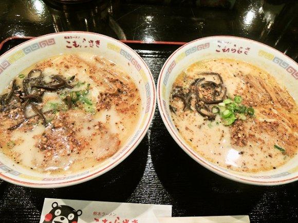 新横浜ラーメン博物館で福岡・熊本の豚骨ラーメン店を食べ比べ